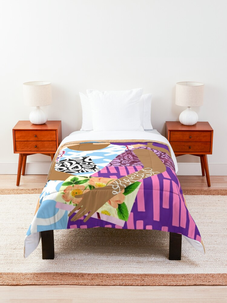 Alternate view of Terrific Two Comforter