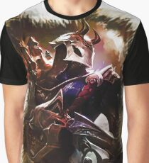 League of Legends BLOOD MOON JHIN Graphic T-Shirt