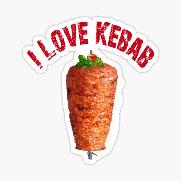 I love Kebab Sticker