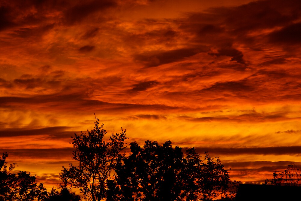 Sky on Fire by Jim Caldwell