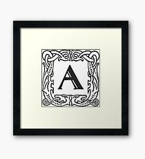 A graphic Framed Print