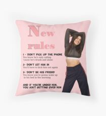 New Rules - Dua Lipa Throw Pillow