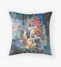 Mother, woe is me Throw Pillow