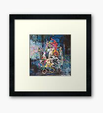 Mother, woe is me Framed Print