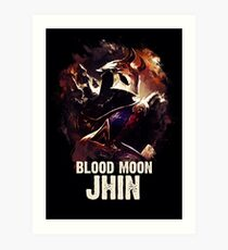 League of Legends BLOOD MOON JHIN Art Print