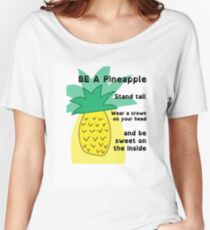 Unique Pineapple Women's Relaxed Fit T-Shirt