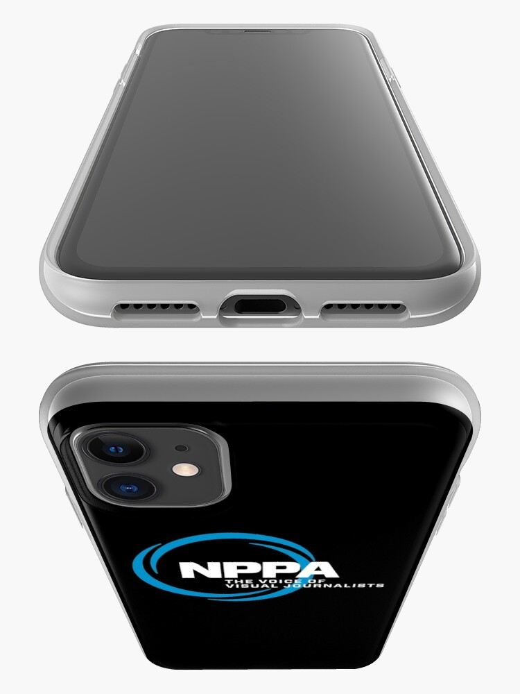 Alternate view of NEW NPPA SHUTTER SWIRL LOGO iPhone Case & Cover
