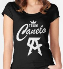 Canelo  Women's Fitted Scoop T-Shirt