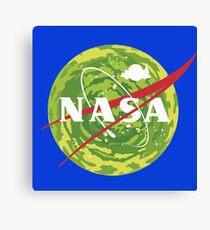 NASA - Rick and Morty Canvas Print