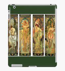 Alphonse Mucha, Vintage Art iPad Case/Skin
