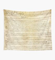 Vintage United States Constitution Wall Tapestry