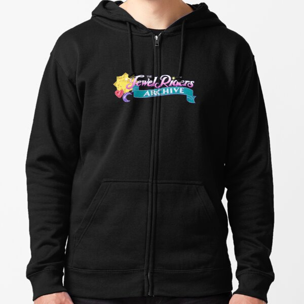 The Jewel Riders Archive Zipped Hoodie