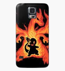 Feuerdrache innerhalb - TechraNova Hülle & Skin für Samsung Galaxy