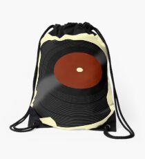 Vinyl Records Lover - The DJ - Vinylized Man Drawstring Bag