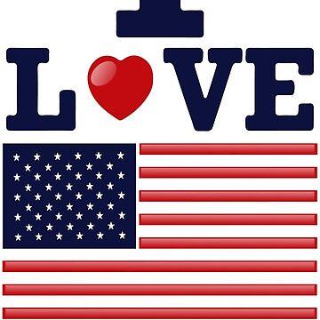 I love USA by taimurtaimur