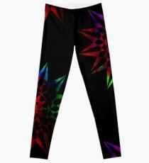 Colorful Trippy Star Leggings