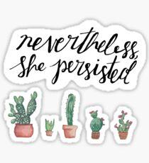 Feminist Cactus Sticker