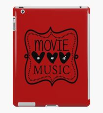 Movie and Music iPad Case/Skin