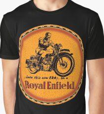 Royal Enfield vintage British Motorcycles Graphic T-Shirt