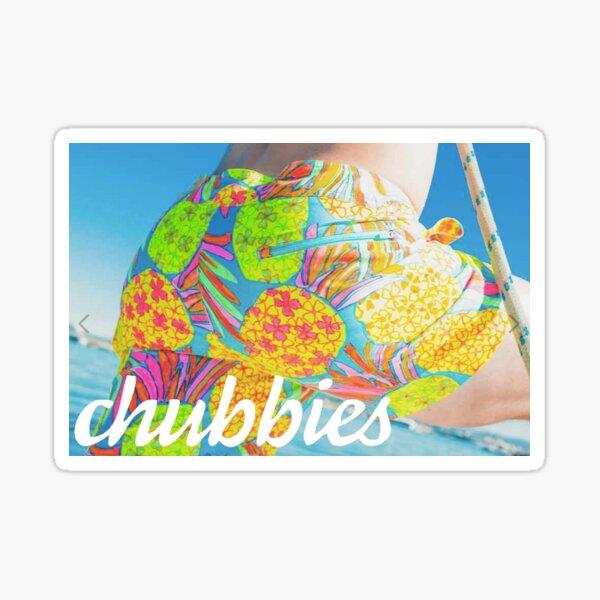 Chubbies Box Logo Sticker
