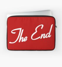 The End is Elementary Laptop Sleeve