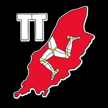 Isle of Man 3 Legs Triskelion TT Racing Manx Flag by thespottydogg