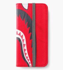 Bape logo iPhone Wallet/Case/Skin