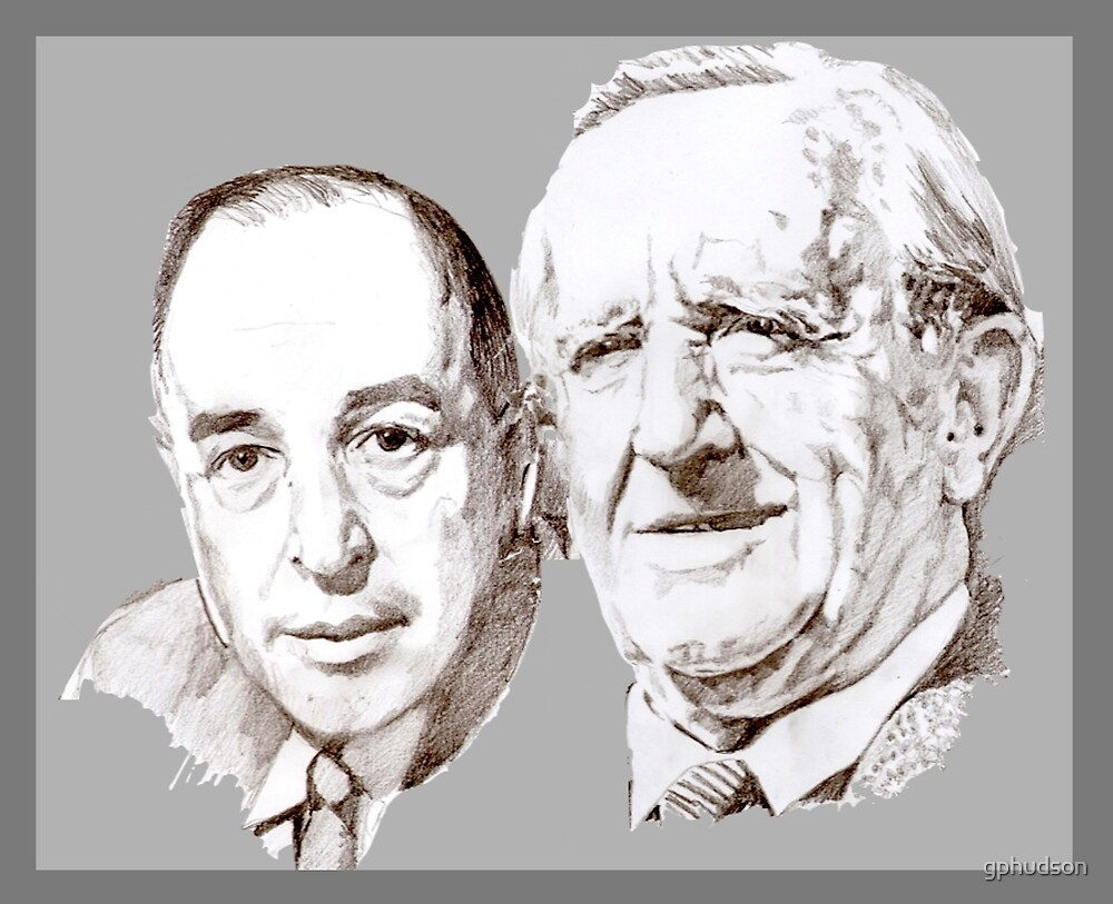 Lewis and Tolkien by gphudson