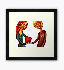 Look After My Heart Framed Print
