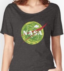 NASA - Rick and Morty Women's Relaxed Fit T-Shirt