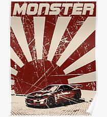 R34 MONSTER Poster