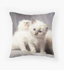 Ol' Blue Eyes Throw Pillow