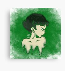 BC in green Canvas Print