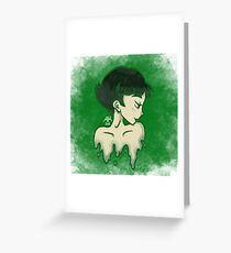 BC in green Greeting Card