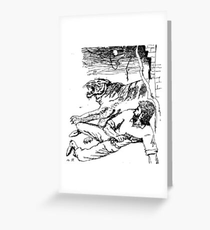 Man-Eaters of Kumaon Greeting Card