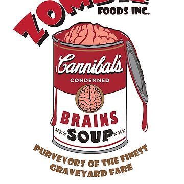 Zombie Brains Soup by undeadwarrior