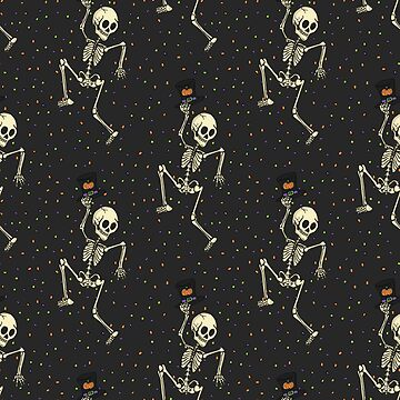 Skeleton Dance Party! by laurenramer