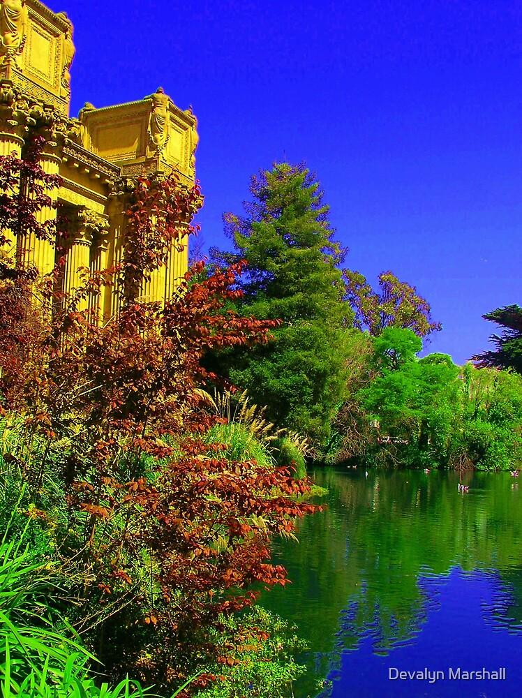 San Francisco's Palace of Fine Arts by Devalyn Marshall