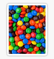 M&M Delicious chocolate  Sticker