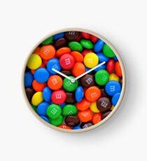 M & M Köstliche Schokolade Uhr