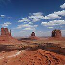 Monument valley by Barbara Burkhardt