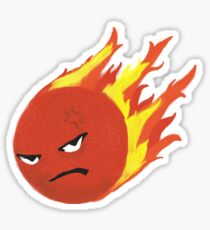 angry bludger Sticker
