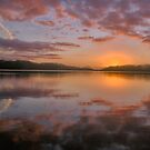 Oh What A Beautiful Morning - Narrabeen Lakes , Sydney Australia by Philip Johnson