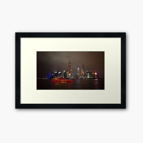 Red Boat Framed Art Print