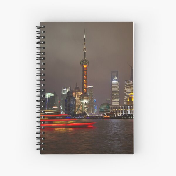 Red Boat Spiral Notebook