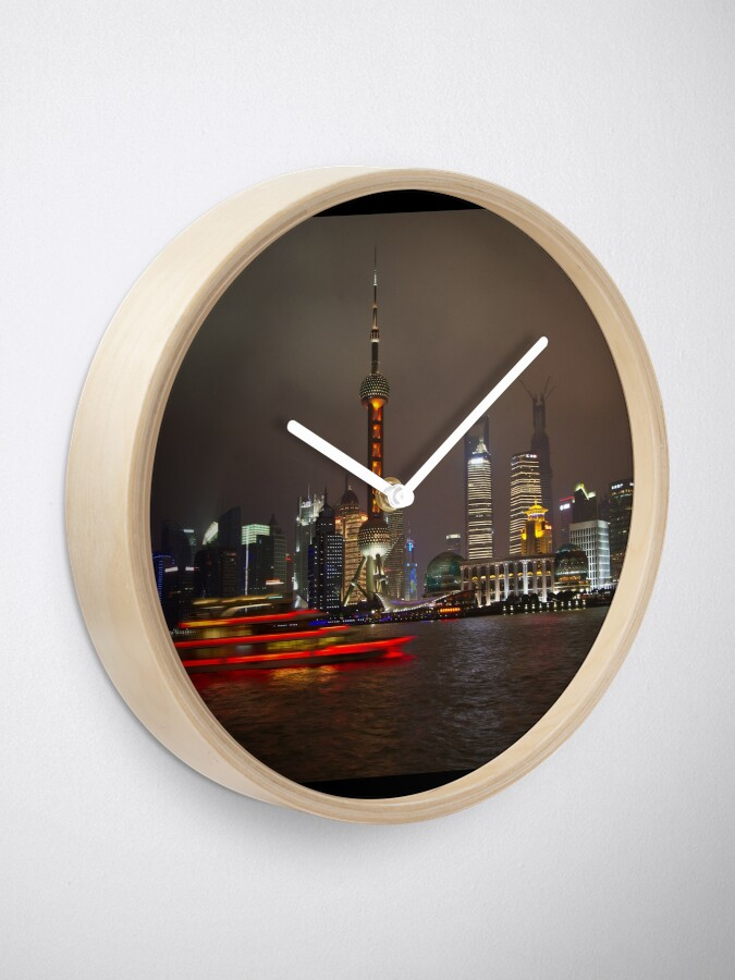 Alternate view of Red Boat Clock