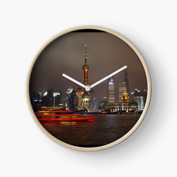 Red Boat Clock