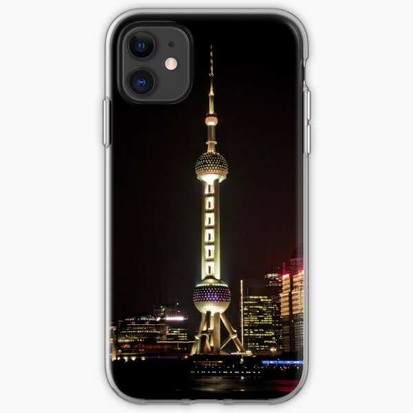Oriental Pearl TV Tower. iPhone Soft Case