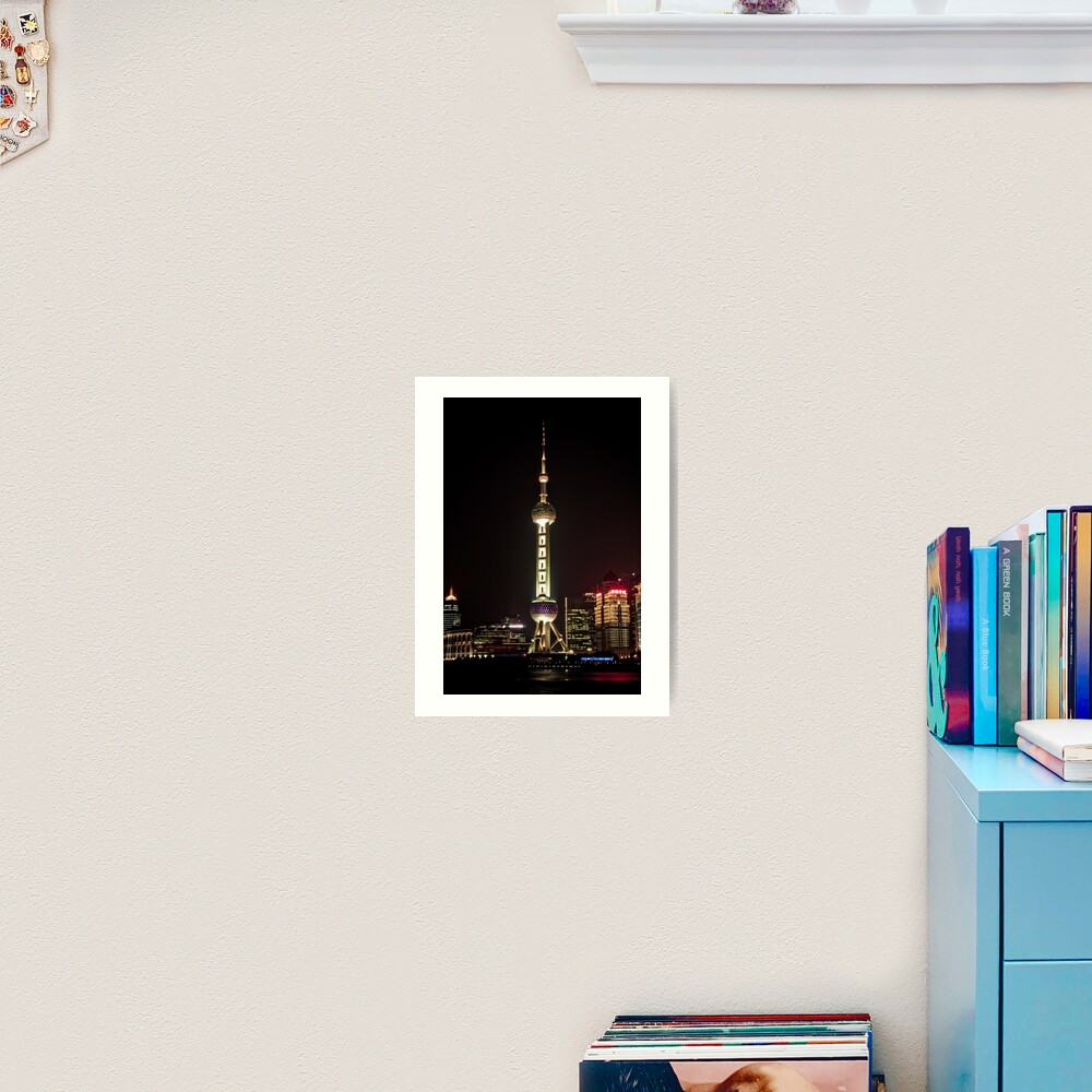 Oriental Pearl TV Tower. Art Print