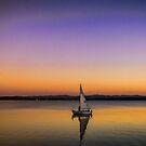 Golden Moon Rising  by Chuck Gardner